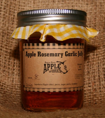 Apple Rosemary Garlic Jelly