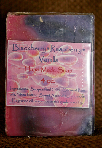 Blackberry Raspberry Vanilla Soap