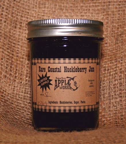 Rare Coastal Huckleberry Jam