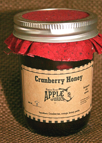 Cranberry Honey