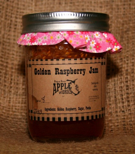Golden Raspberry Jam