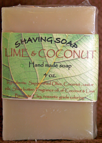 Lime and Coconut Soap