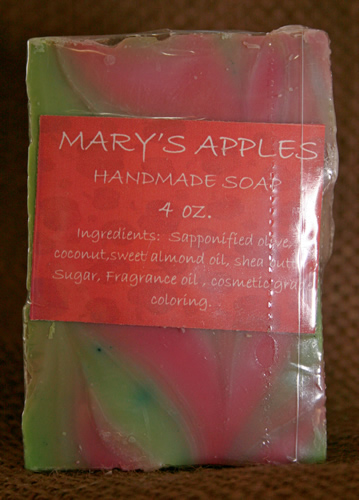 Mary's Apples Soap