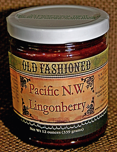 Pacific Northwest Lingonberry Jam