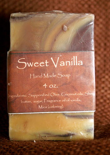 Sweet Vanilla Bar Soap