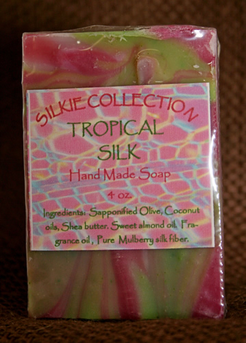 Tropical Silk Soap