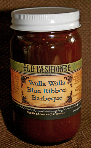 Walla Walla Blue Ribbon Barbecue Sauce
